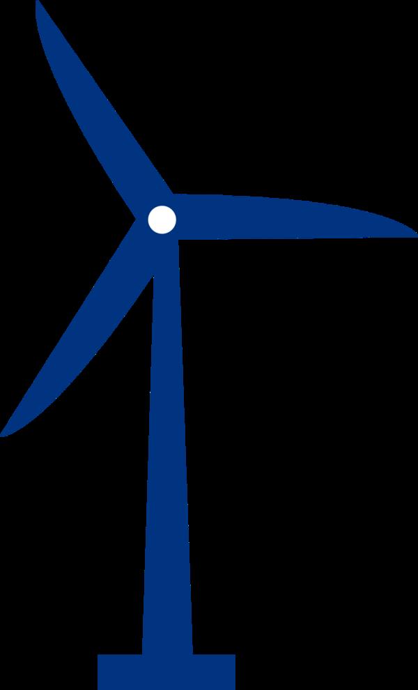 Energy Windmill Clip Art.