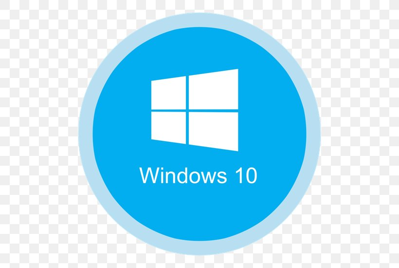 Windows 10 Computer Software Windows 8, PNG, 550x550px.