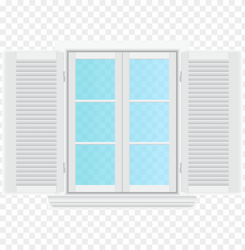 Download window with shutters clipart png photo.