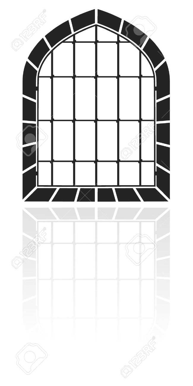 Window With Bars Royalty Free Cliparts, Vectors, And Stock.