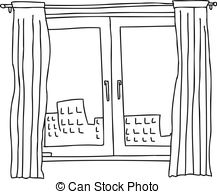Window black and white clipart 6 » Clipart Station.