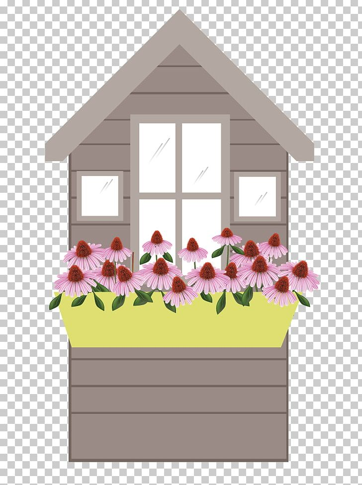 Window Box Flower Box Pollinator PNG, Clipart, Box, Facade.