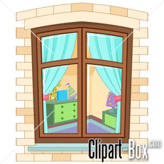 5806 Window free clipart.