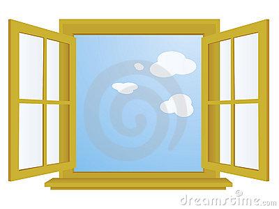 Window Cartoon Clipart PNG.