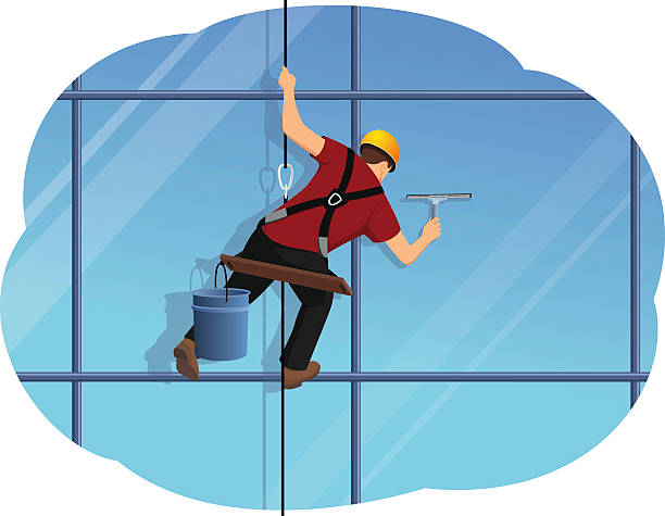 Best Window Cleaning Illustrations, Royalty.
