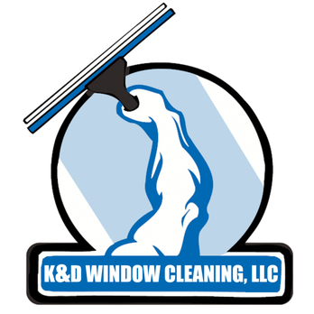 K&D Window Cleaning Logo.