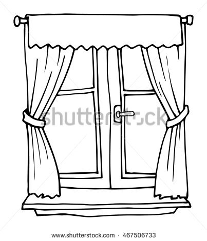Window clipart black and white 4 » Clipart Station.