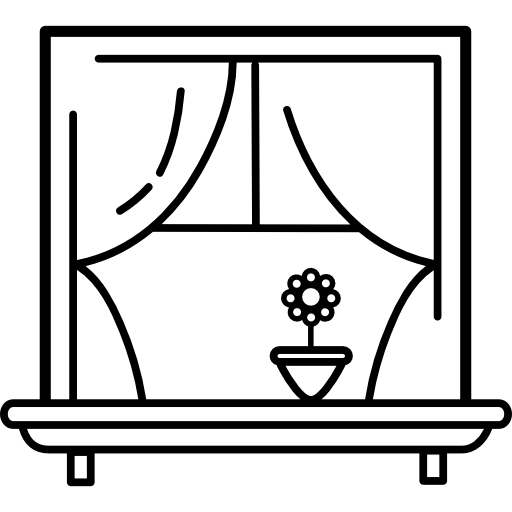 Free Window Clipart Black And White, Download Free Clip Art.