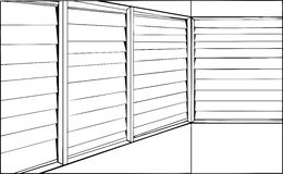 closed window clipart. outline closed window blinds stock illustrations. clipart
