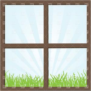 Square Window Clipart.