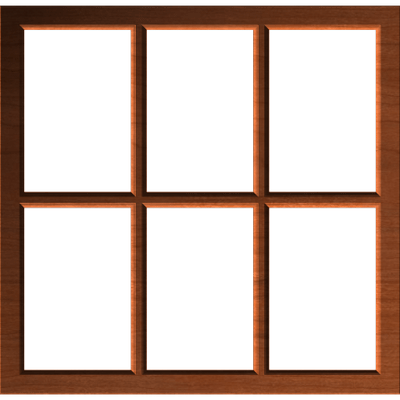 Wooden Window Clipart transparent PNG.