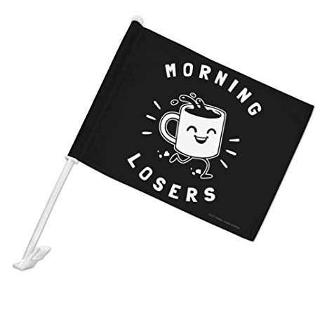 Amazon.com : GRAPHICS & MORE Morning Losers Coffee Cup Funny.