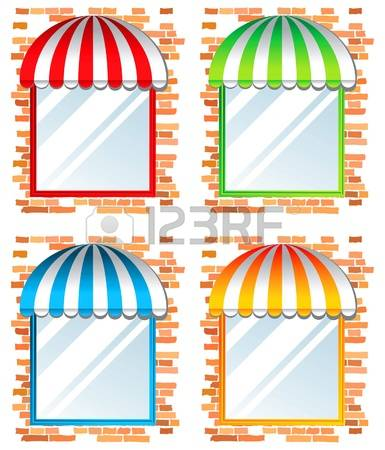 4,909 Awning Stock Vector Illustration And Royalty Free Awning Clipart.