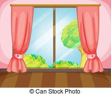 Window curtains Vector Clipart Illustrations. 1,946 Window.