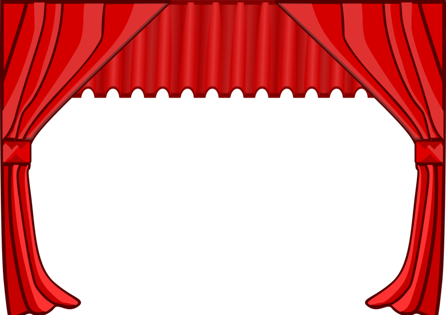 Theatre Curtains clipart.