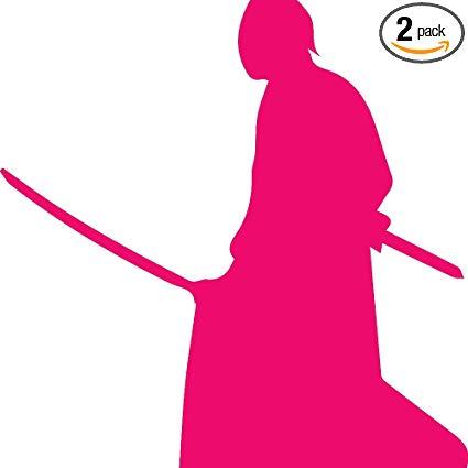 Amazon.com: NBFU DECALS Samurai Silhouette Warrior Ninja.