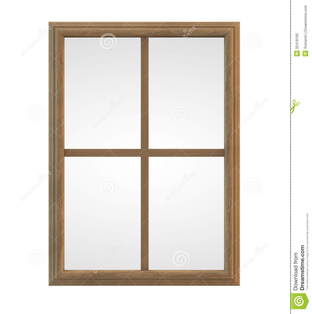 Clipart window frame.