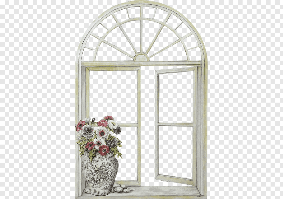 Brown wooden window frame, Window shutter Mirror frame Paned.