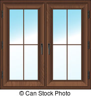 Clipart window frame.