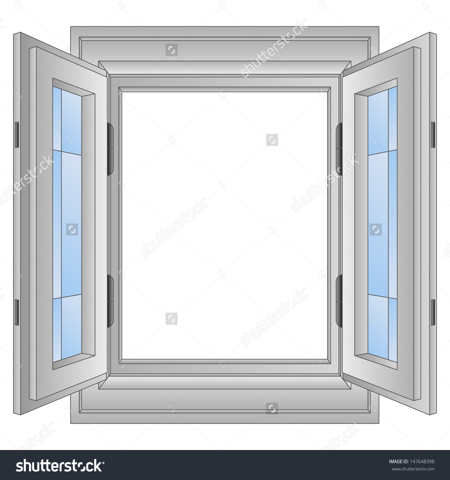 Window frames clipart clipground for Window design clipart