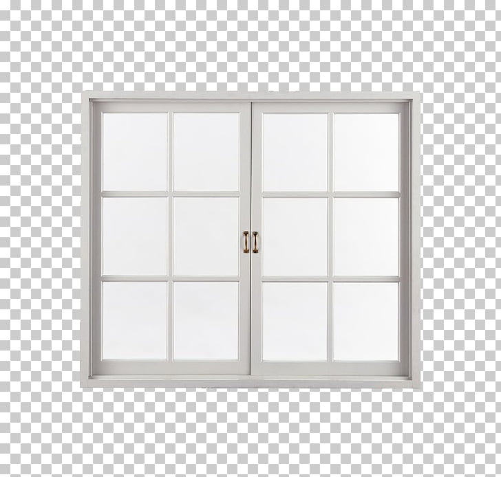 Sash window Frosted glass, White frosted glass windows PNG.