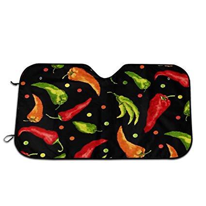 Amazon.com: Andrew Brown Chili Pepper Clipart Windshield Sun.