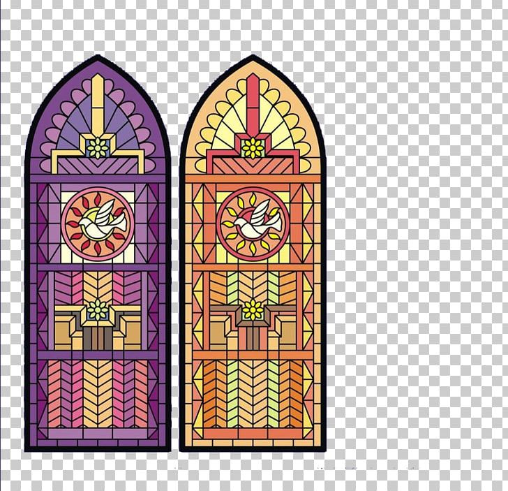 Stained Glass Color PNG, Clipart, Aesthetics, Arch, Art.