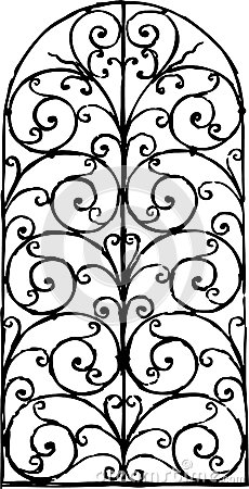 Window Grille Stock Image.