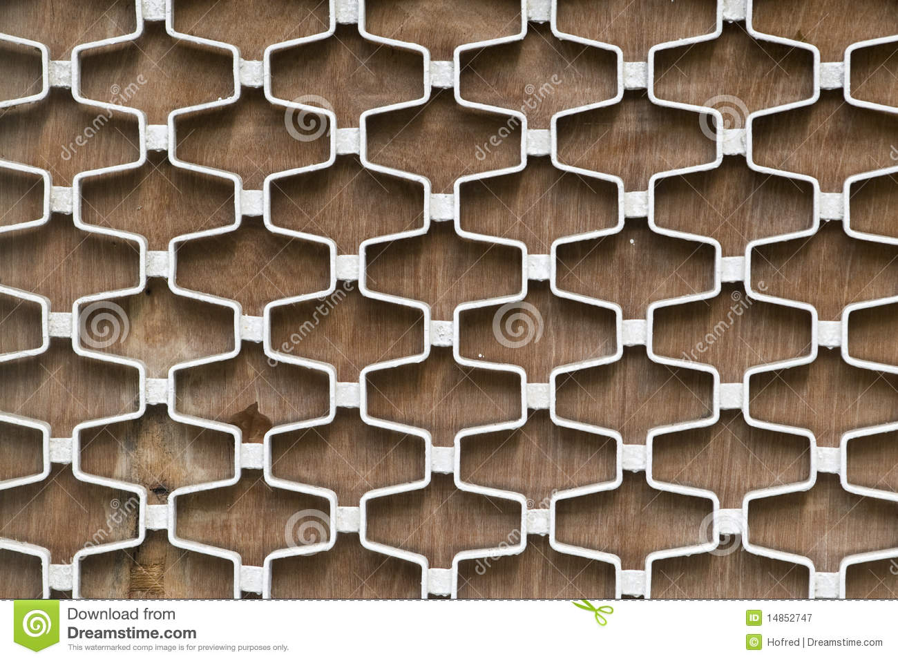 Window Grill Royalty Free Stock Photography.