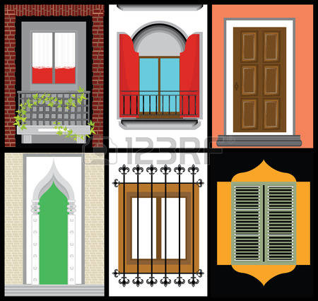 15,399 Old Window Stock Vector Illustration And Royalty Free Old.