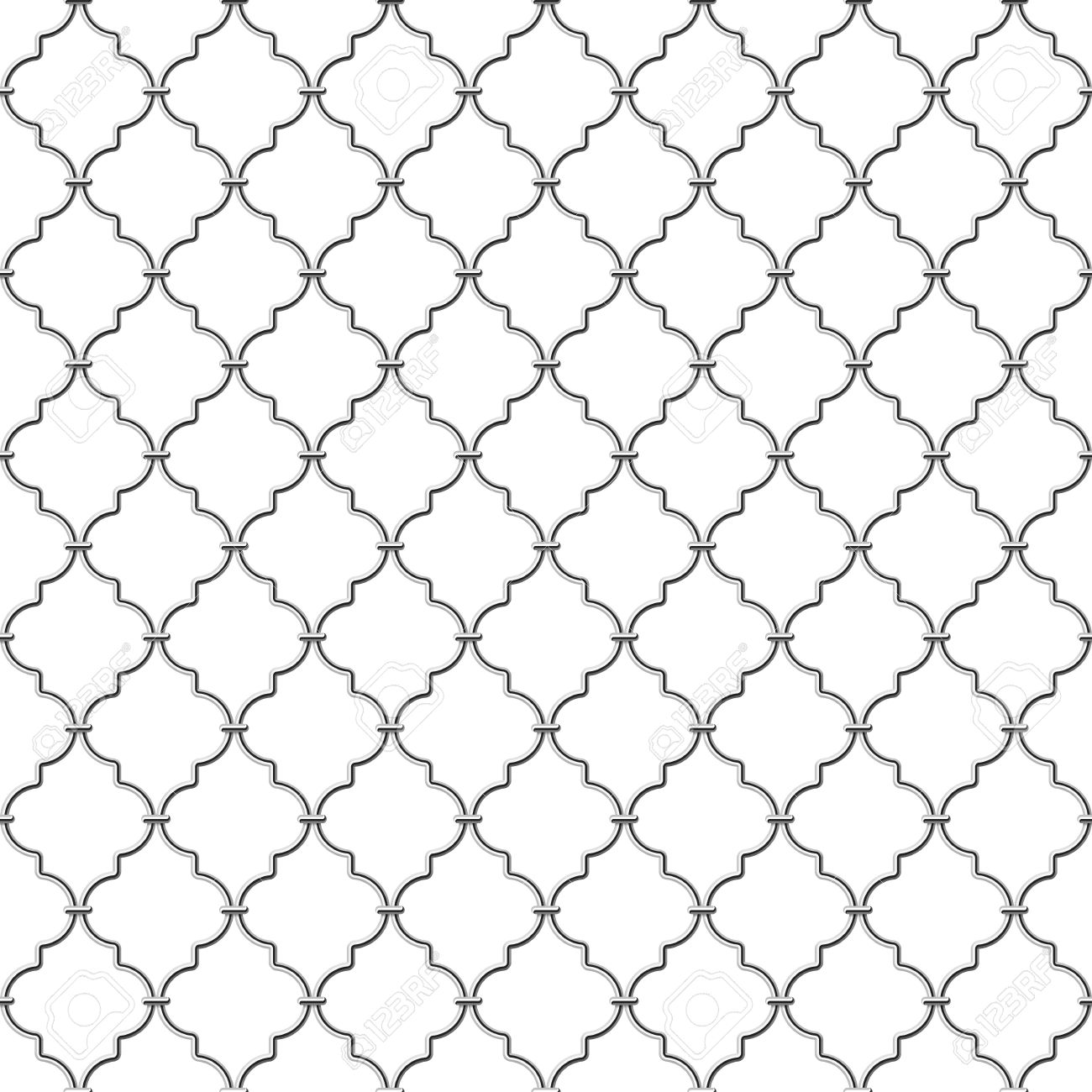 Seamless Metal Lattice Royalty Free Cliparts, Vectors, And Stock.