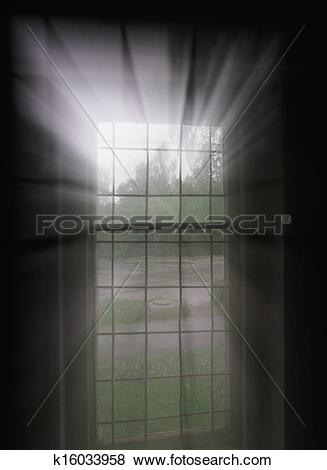 Stock Illustration of Window light k16033958.
