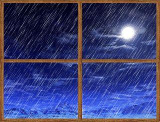 Rain on glass clipart.