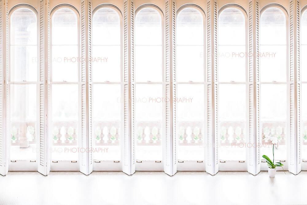 White Shutter Window Overlay.