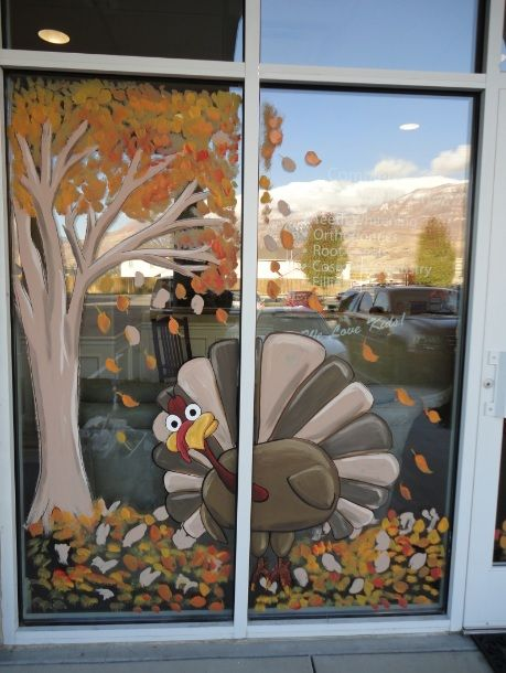 1000+ images about window paintings on Pinterest.