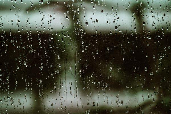 Rainy Window Pane.