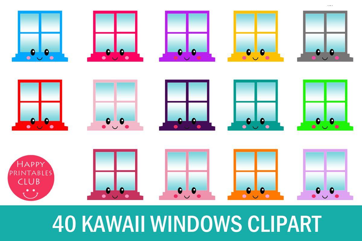 40 Windows Clipart.