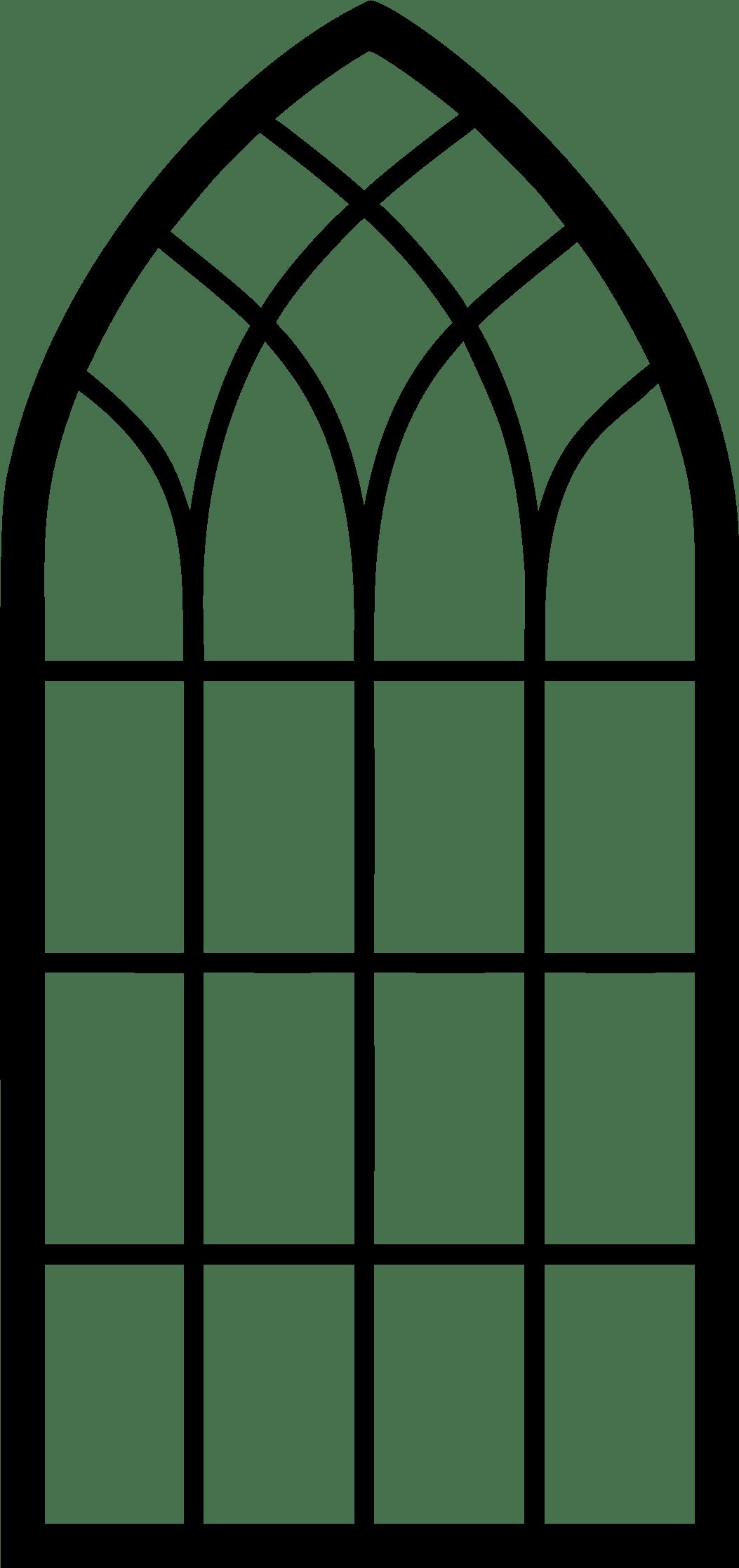 Church Window transparent PNG.