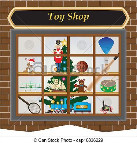 clip art toy shop.