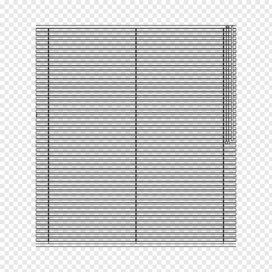 Gray lines illustration, Window Blinds & Shades Line Window.
