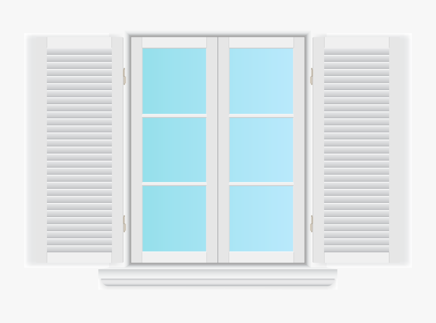 Window With Shutters Png Clip Art Window With.
