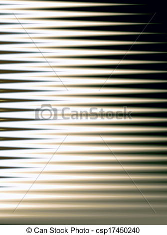 Drawing of Abstract Window Blinds.