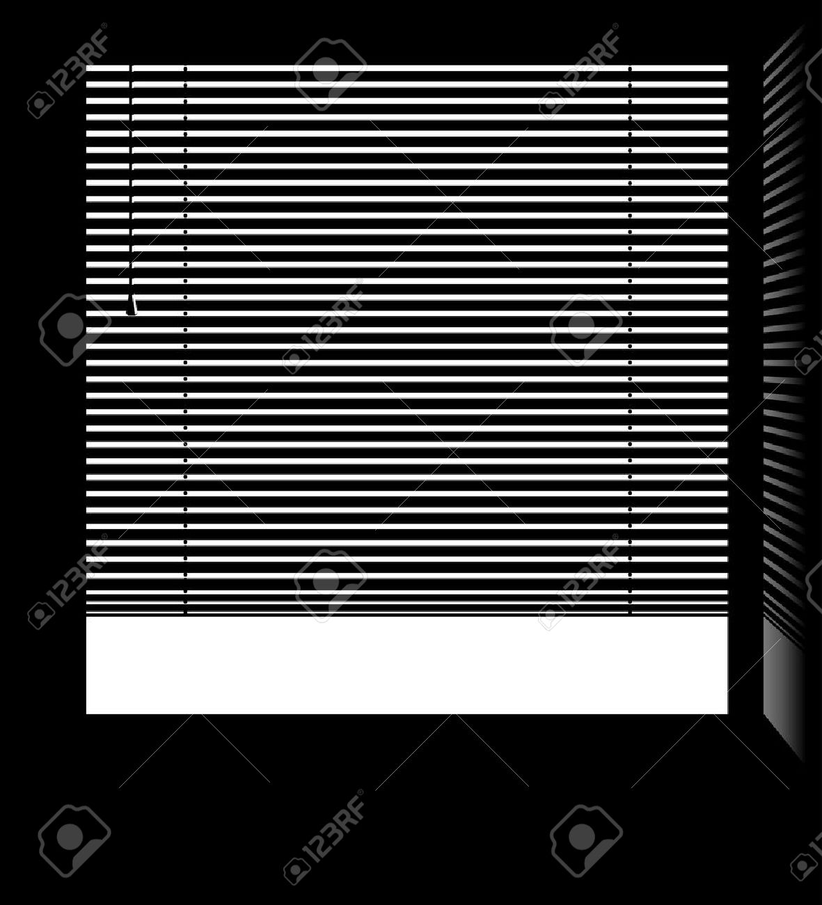 1,227 Window Blinds Stock Illustrations, Cliparts And Royalty Free.