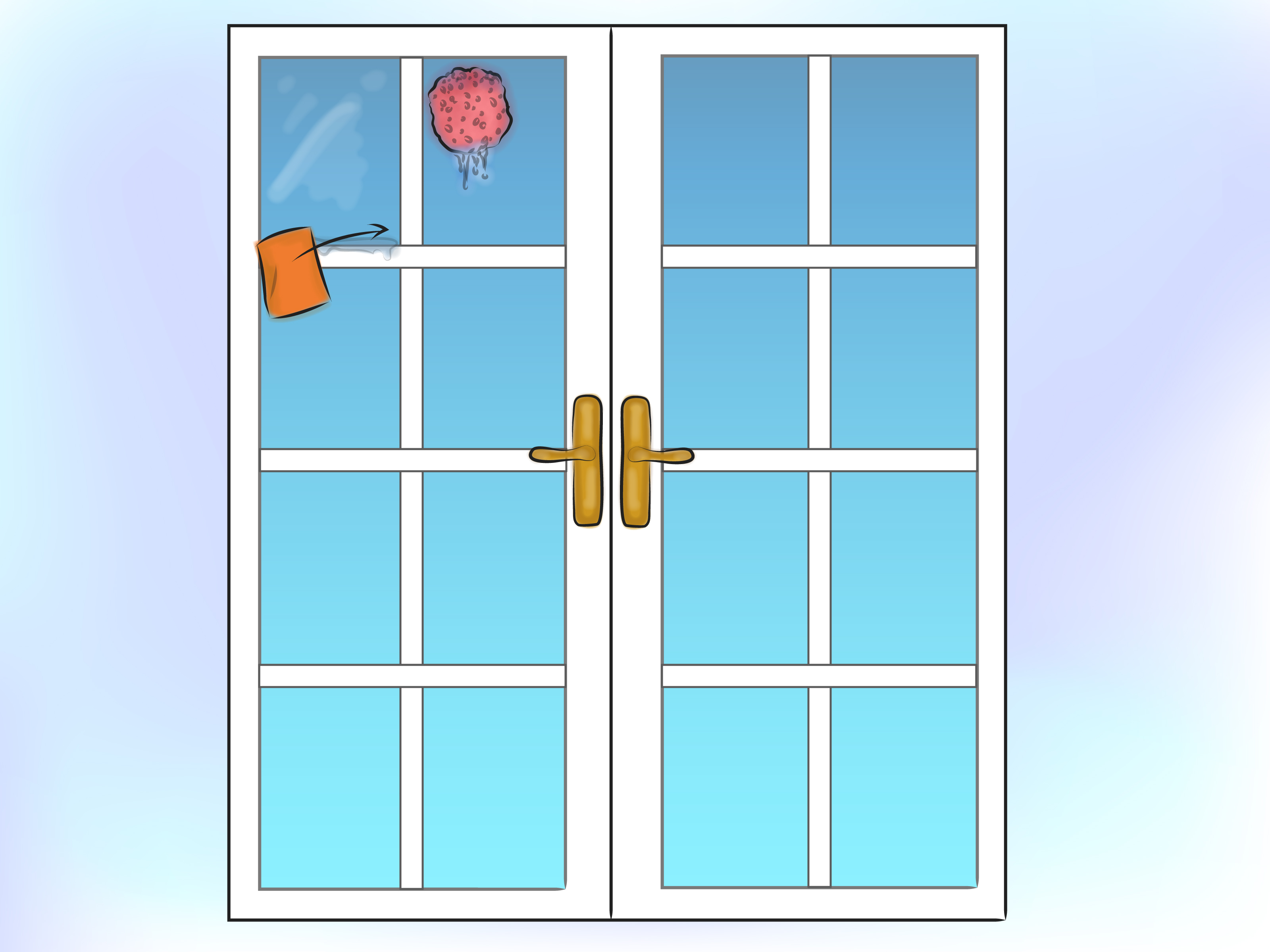 How to Clean French Doors and Windows: 8 Steps (with Pictures).