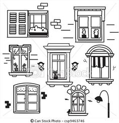 How to Draw a House, Step by Step, Buildings, Landmarks & Places.