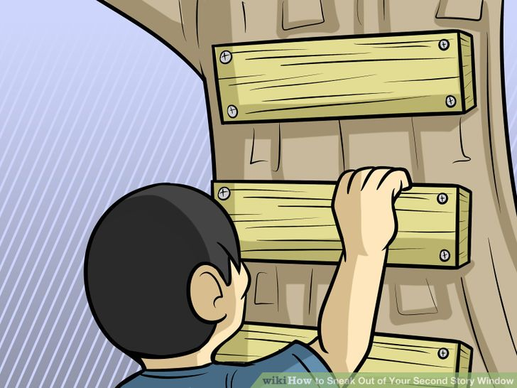 4 Ways to Sneak Out of Your Second Story Window.