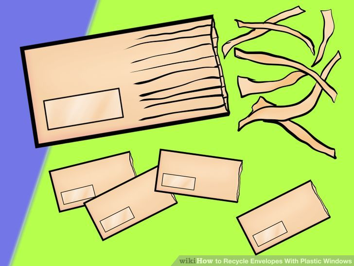 3 Ways to Recycle Envelopes With Plastic Windows.