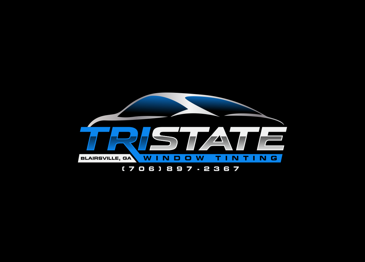 Bold, Professional, Window Tinting Logo Design for Tri state.