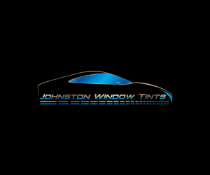 Johnston Window Tints Logo Design.