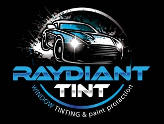 RAYDIANT TINT logo design.